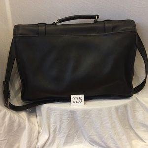 Coach Bags - COACH Leather Brief Case e62b8eec64661